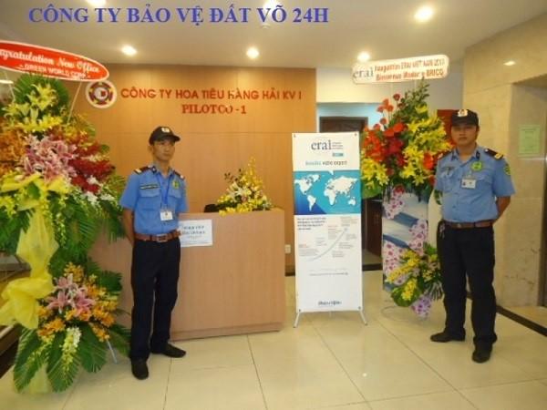 Dịch vụ bảo vệ sự kiện cho công ty Hoa Tiêu Hàng Hải KV1
