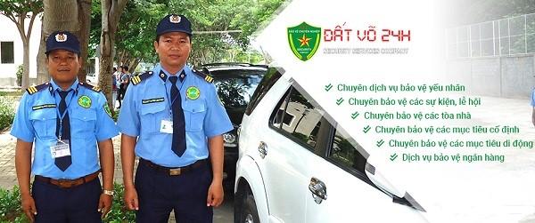 Các loại hình dịch vụ bảo vệ tại Đất Võ 24h