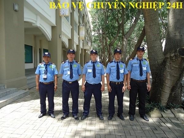 Đội ngũ nhân viên bảo vệ Gò Vấp chuyên nghiệp, được đào tạo huấn luyện bài bản